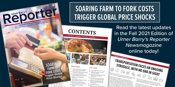 Urner Barrys Fall 2021 Reporter Issue Released; Read It Online For Free Now