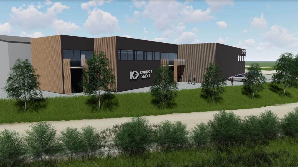 Kvarøy Arctic Parent Company Invests $16 Million USD Into New Smolt Facility