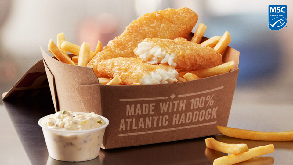 McDonalds Adds Fish & Chips to Canadian Menus for Limited Time