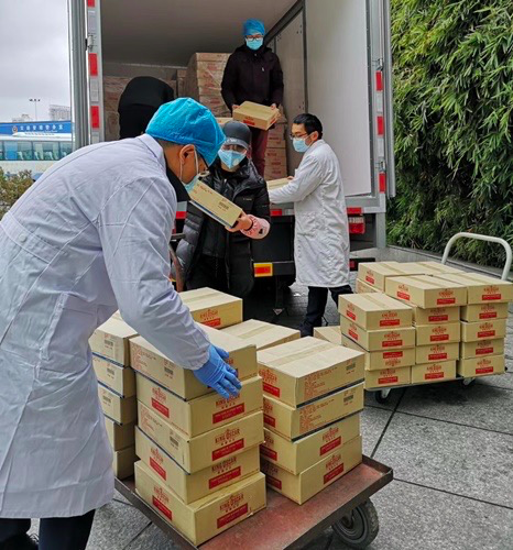 Thai Union China Sends Humanitarian Assistance To Wuhan