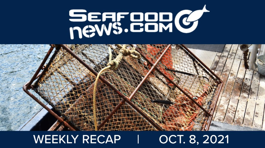 VIDEO: Jones Act Pollock Case; Bering Sea Crabbers; August Shrimp Imports; Sustainable Seafood Sales