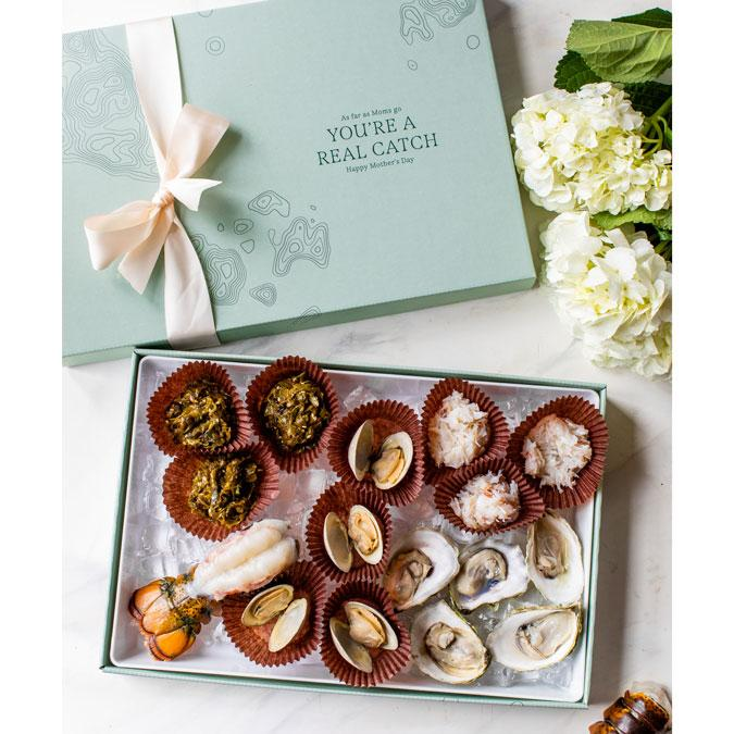 Maine Seafood Launches First Ever DIY Mother's Day Gift Box