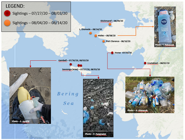 Mystery: Foreign Marine Debris on Bering Strait Beaches Focus of NOAA's ORR