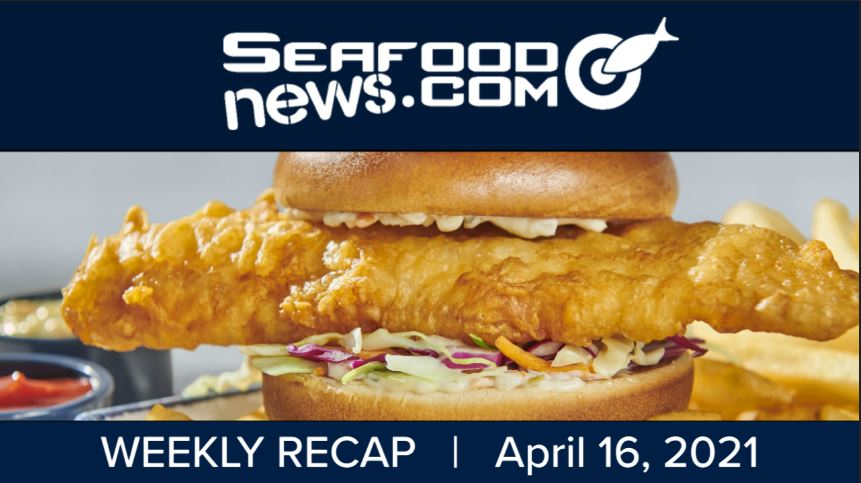VIDEO: Frozen Lobster Products; Chile's Algae Bloom; H-2B Visas; Red Lobsters New Sandwiches