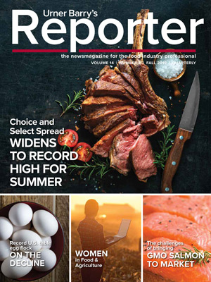 Urner Barry's Reporter Fall 2019 Issue Released