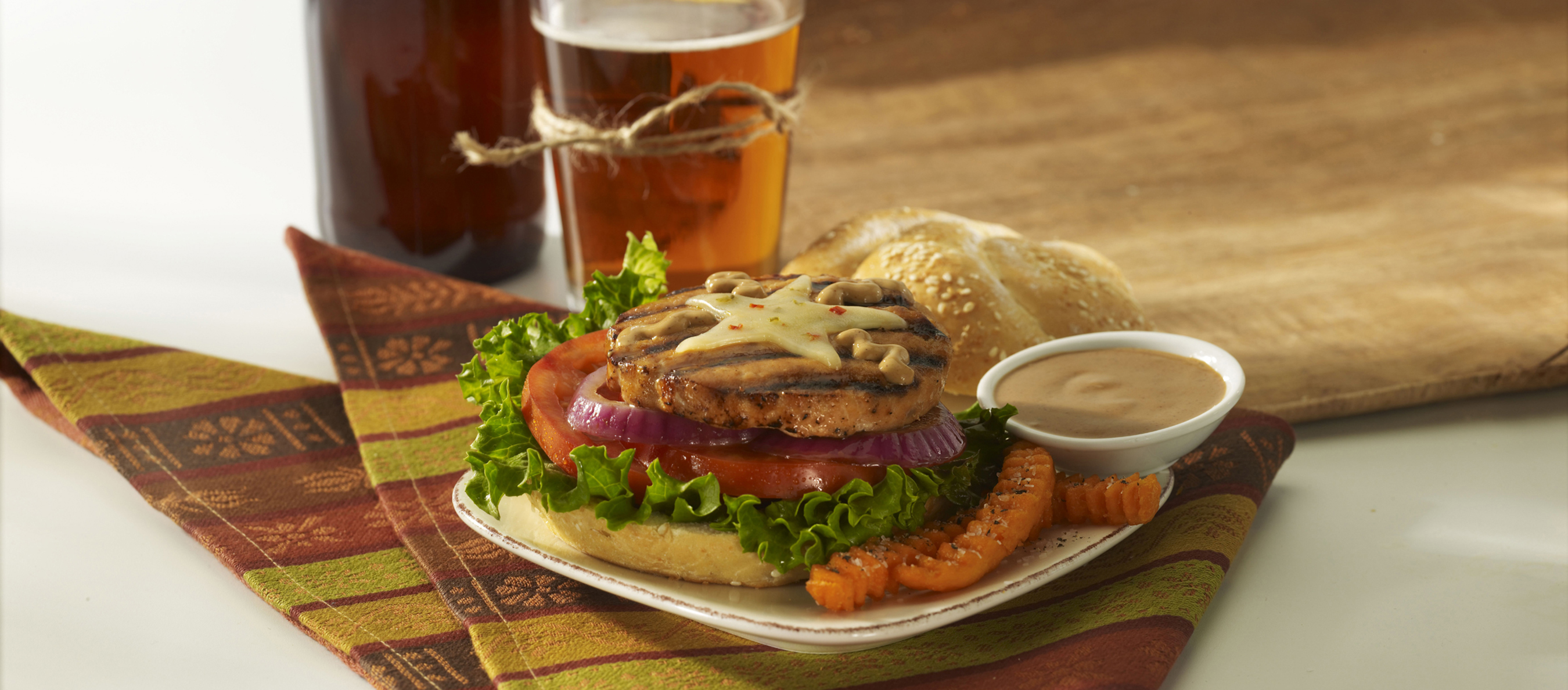 SeaPak Debuts New Salmon Burgers to Land Seafood a Place in Summer Grilling Season