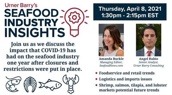 Urner Barry Presents Seafood Industry Insights Webinar