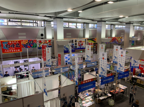 Seafood Show Osaka Pleased Exhibitors Despite 60% Drop in Visitors in Two Days