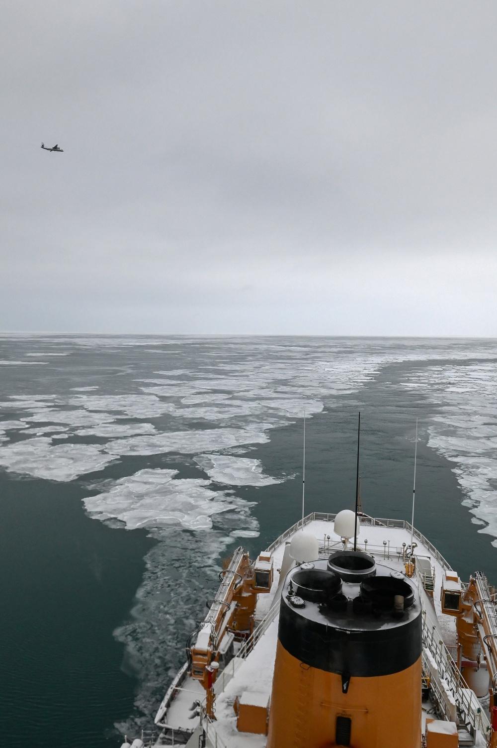 U.S. Coast Guard, Russian Border Guard Continue Patrols Along Maritime Boundary Line
