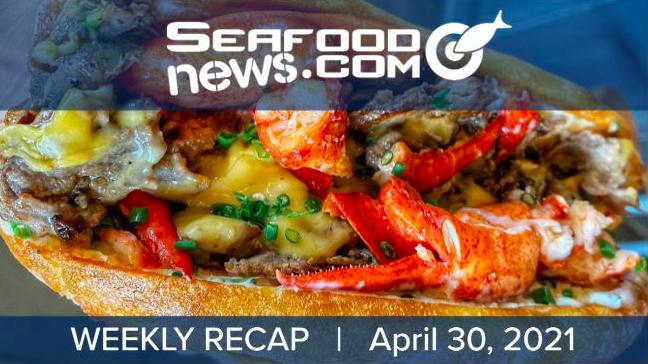 VIDEO: Snow Crab Closures; BlueNalu Seafood in Asia; Q1 Shrimp Landings; Surf'N Turf Sandwich
