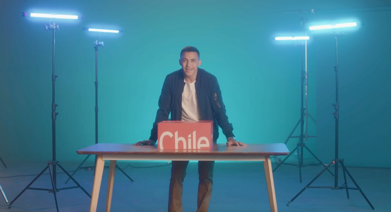 Top Chilean Soccer Player to Star in Campaign Showcasing Country's Salmon, Other Top Exports