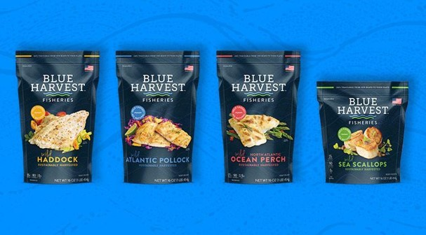 Blue Harvest Launching First Line of Branded Retail Products at Boston Seafood Show