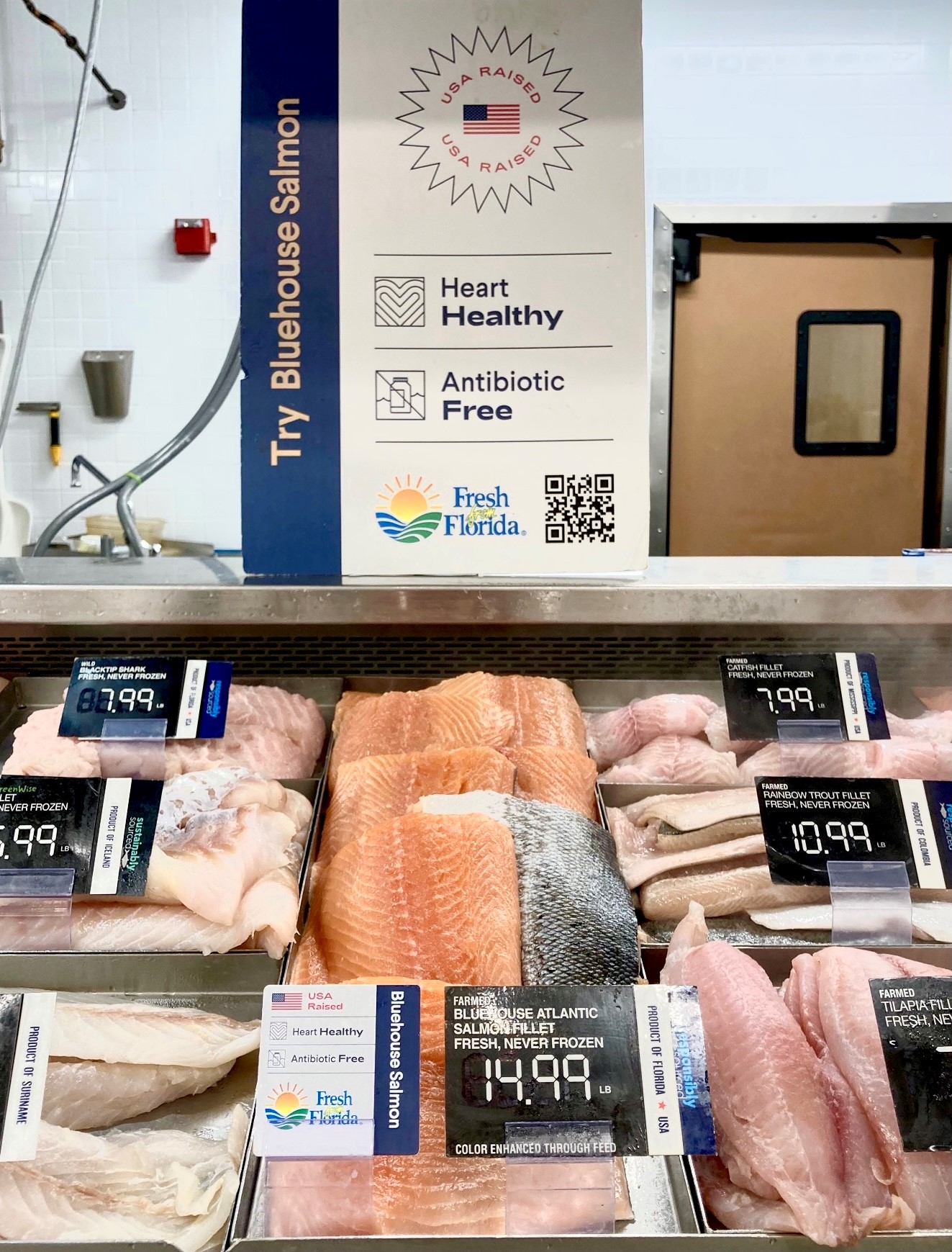 Publix Now Offering Atlantic-Sapphire's Bluehouse Salmon In All Stores