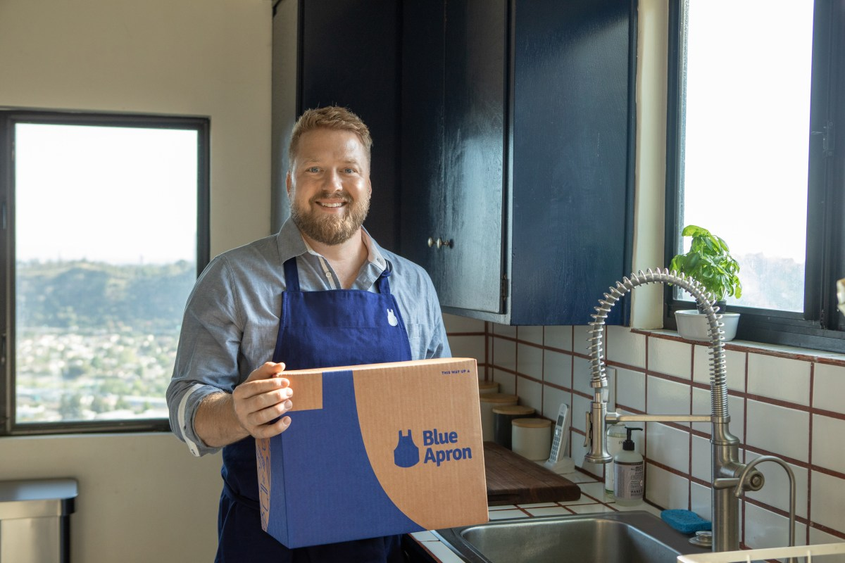 Blue Apron Pushes Shrimp and Salmon With Chef Tim Hollingsworth and HBO Max Partnership