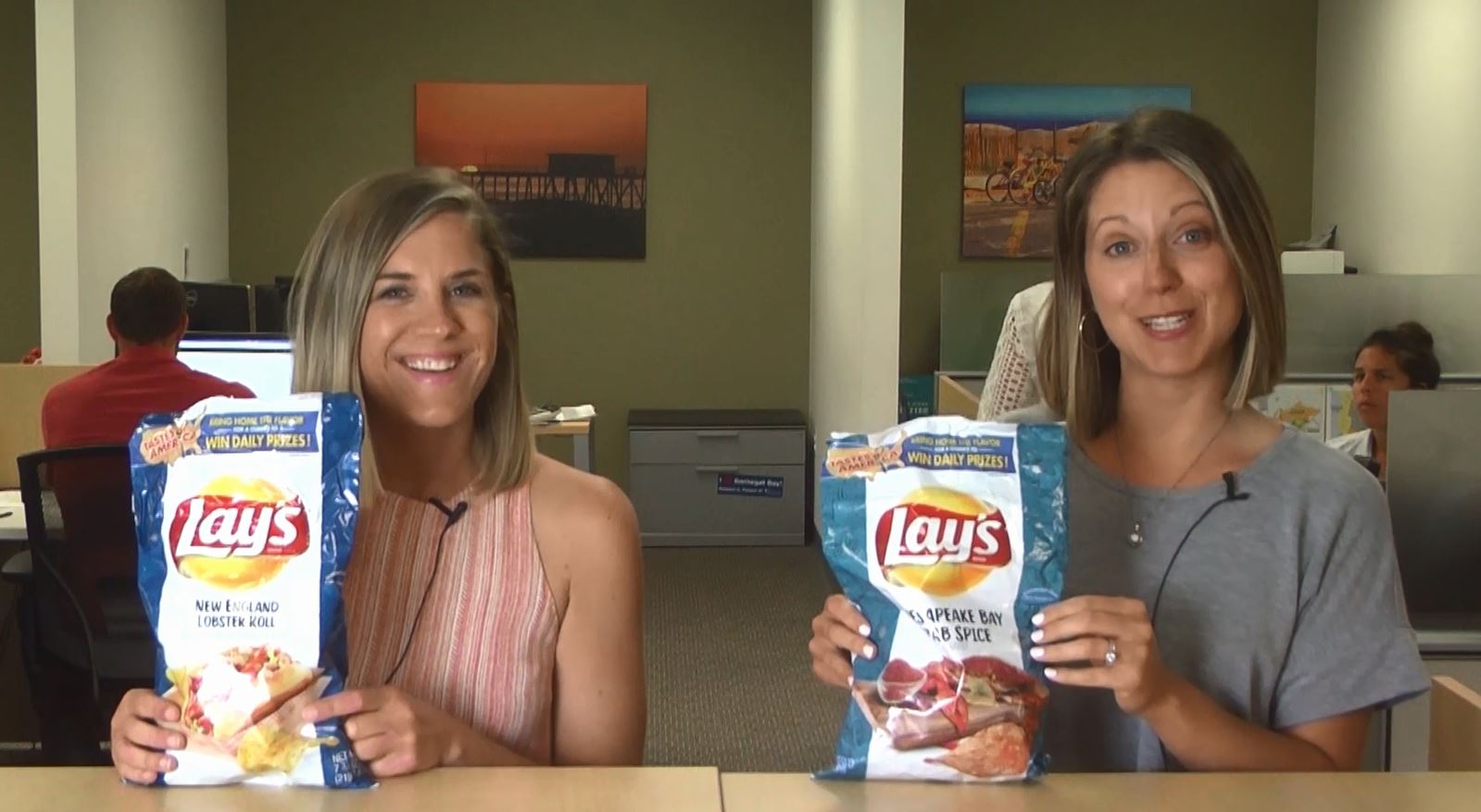 Taste Test: What Do The New Lay's Lobster Roll and Chesapeake Bay Crab Spice Chips Taste Like?