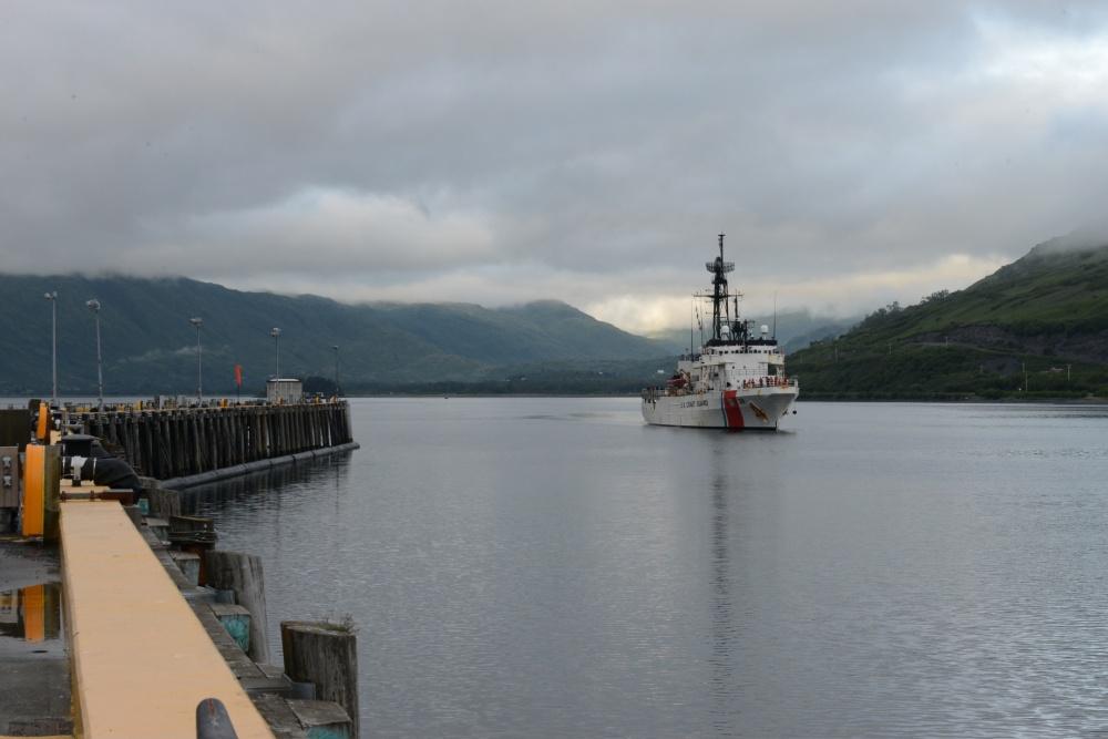 Coast Guard Cutter Alex Haley Returns to Kodiak From Eventful North Pacific Patrol
