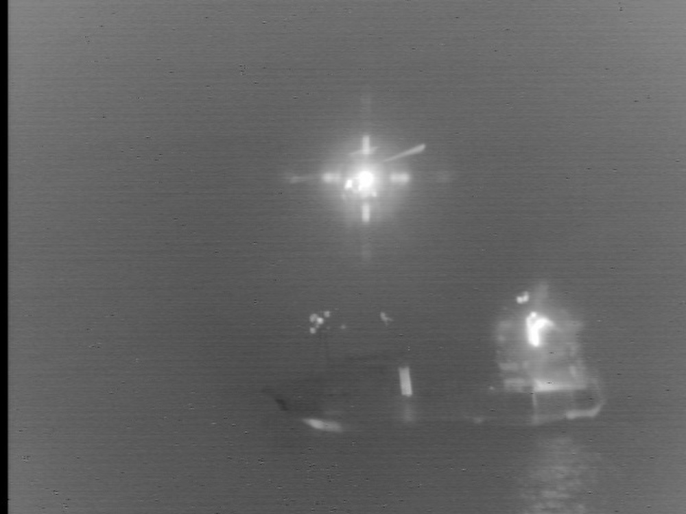 Kodiak Coast Guard Medevacs Fisherman Hit by Crab Pot