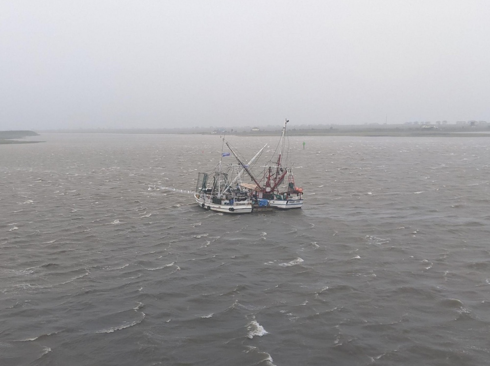 Coast Guard Rescues Six From Trio of Grounded Fishing Vessels