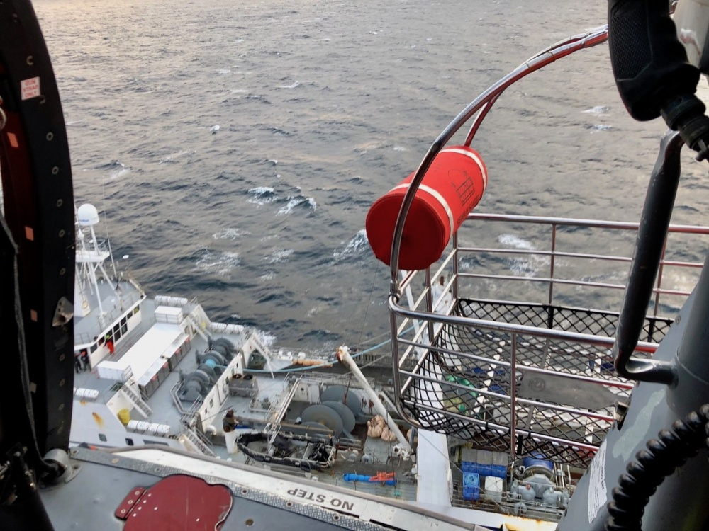 Coast Guard Medevacs Fisherman 10 Miles off Oregon Coast