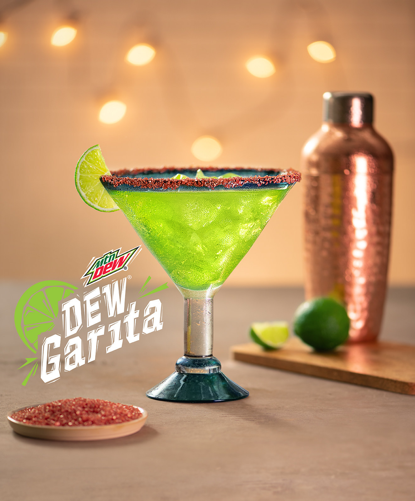 Red Lobster and PepsiCo Kick-Off Partnership With 'Dew Garita'