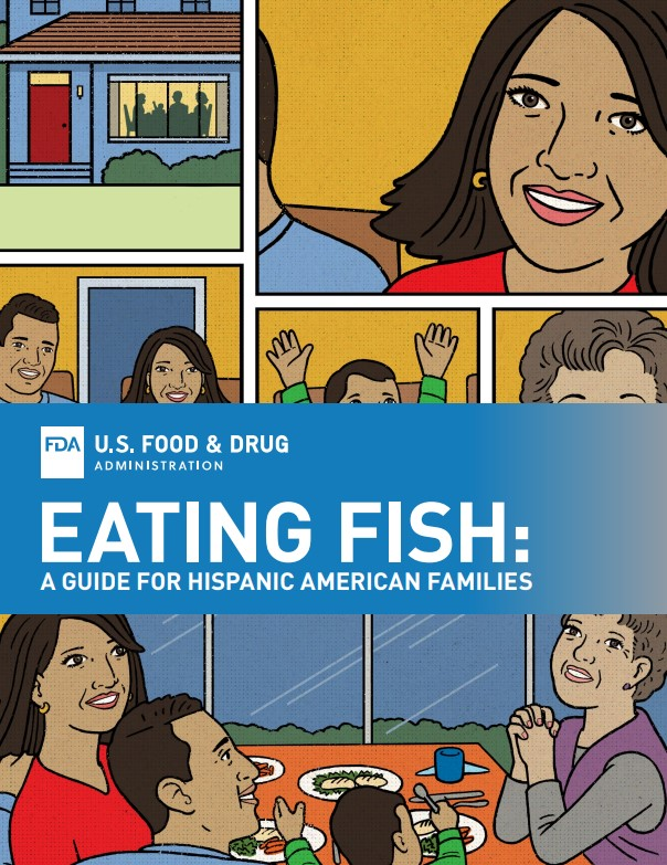 FDA Releases Graphic Novels to Encourage Families to Eat More Fish