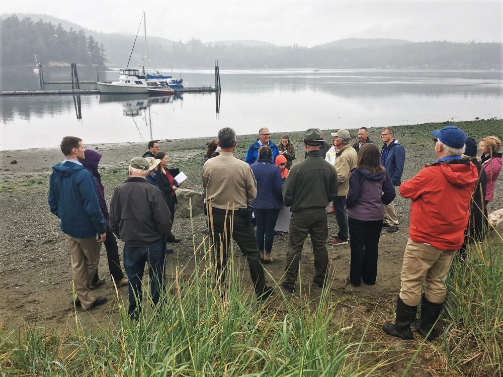 Washington Salmon, Recovery Efforts Grow Through Shoreline Restoration, Land-based Whale Watching