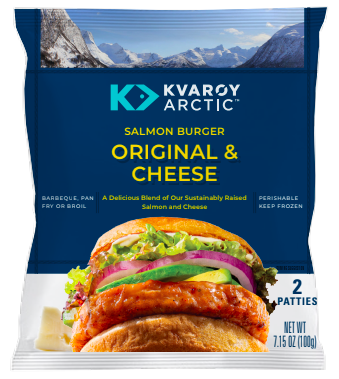 Kvarøy Arctic Introduces Salmon Burgers and Hot Dogs Just in Time for End of Summer BBQs