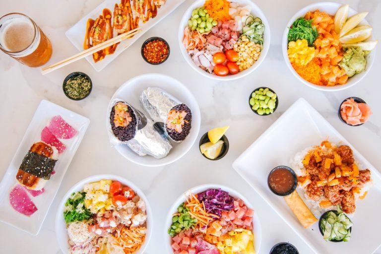 LemonShark Poké Introducing Ocean Hugger's Vegan Tuna in California Locations