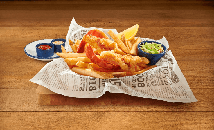 Red Lobster Launches New Menu Items For Lobsterfest, Including Lobster and Chips Dish