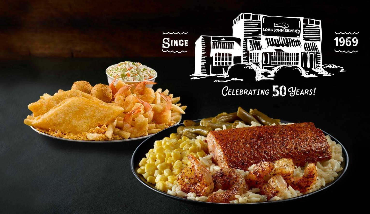 Long John Silvers launches $7.99 All-You-Can-Eat Special to Celebrate 50th Anniversary