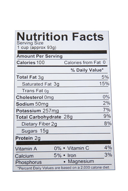 NFI to Host Nutritional Facts Panel Webinar on August 23