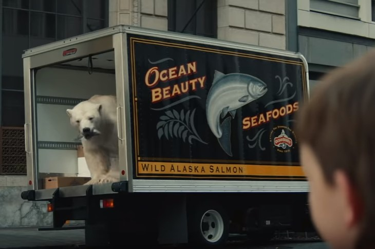 Ocean Beauty Seafoods Truck Featured in New Timmy Failure Disney Movie