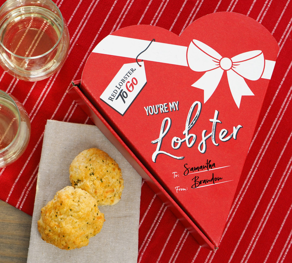 Red Lobster Has the Perfect Valentines Day Gift: A Heart-Shaped Box Full of Cheddar Bay Biscuits