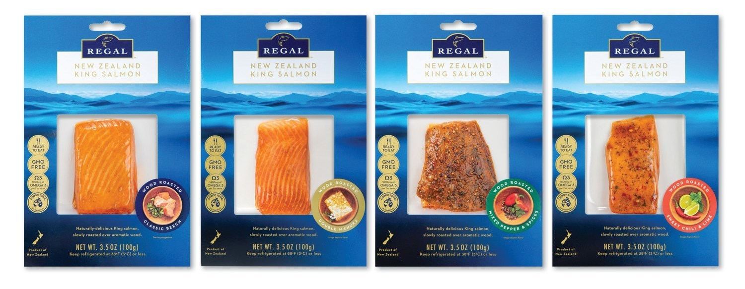New Zealand King Salmon Co. Rolls Out Wood Roasted Retail Line in U.S.