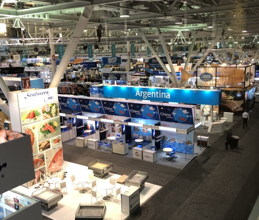 Boston Seafood Show Venue Turned into Coronavirus Field Hospital