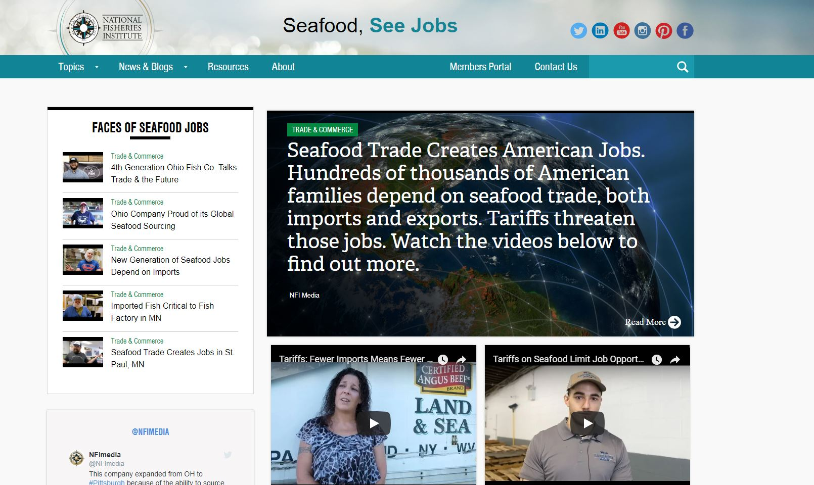 NFI's Seafood, See Jobs Campaign Highlights Pennsylvania Seafood Processors and Distributors