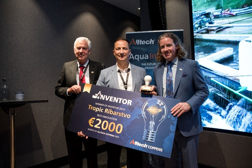Fish Farm Tropic Ribarstvo Recognized as Tech Innovator at Aqua InDepth Conference