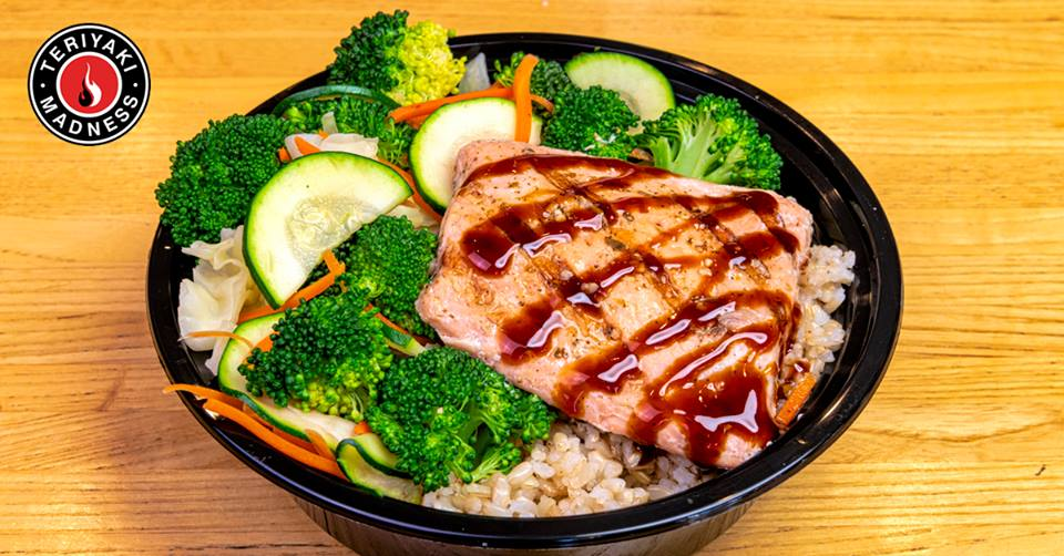 Fast Casual Chain Teriyaki Madness Introducing Salmon Bowls