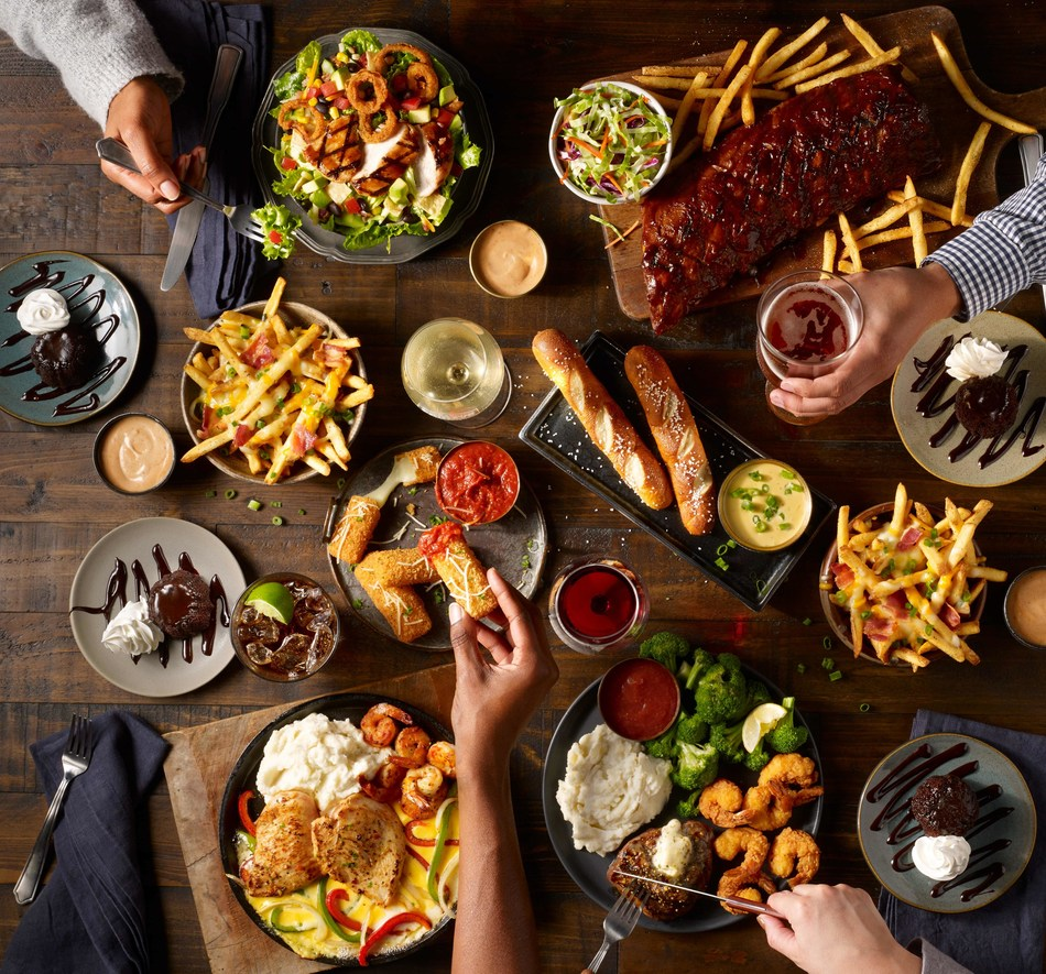 TGI Friday's Launches Fridays Feats Featuring Seafood Options