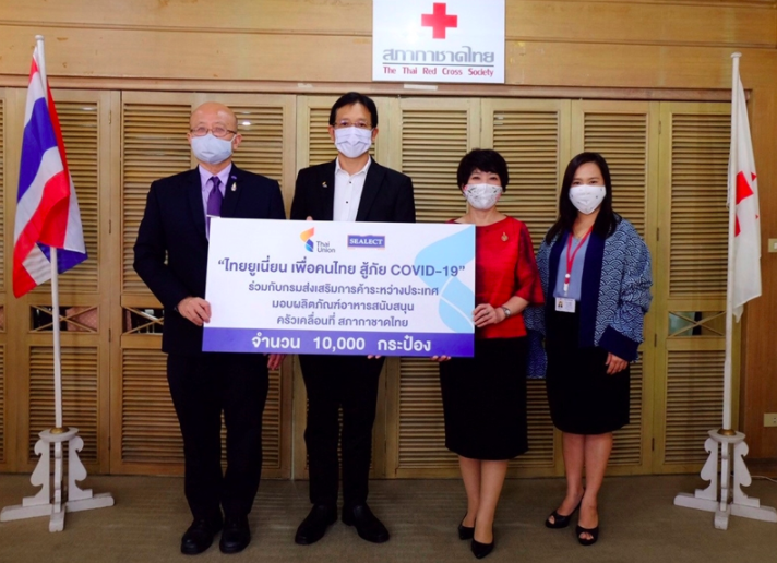 Thai Union Donates Additional Products to Thai Red Cross to Help Those Impacted by COVID-19