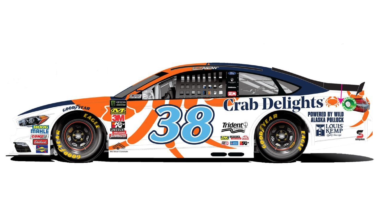 Tridents Louis Kemp Crab Delights on Track for Two NASCAR Races This Fall