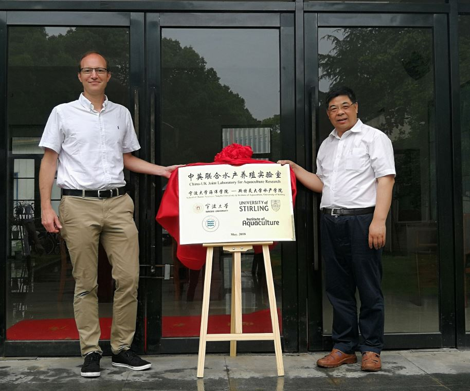 University of Stirling and University of Ningbo in China Form Aquaculture Partnership